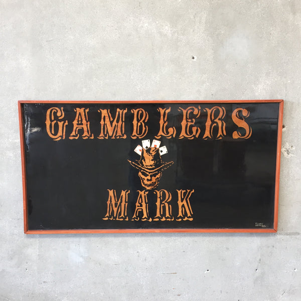 Gamblers Mark Framed Art by Roberto Lopez