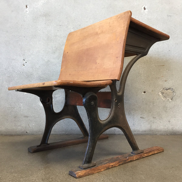 Vintage Child's School Desk