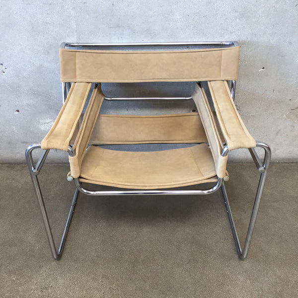 Mid Century Wassily Marcel Breuer Inspired Chair