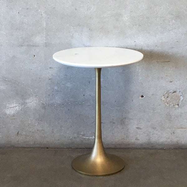 Small Marble Top Tulip Table