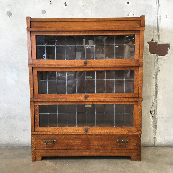 Arts and Crafts Mission Style Oak Bookcase