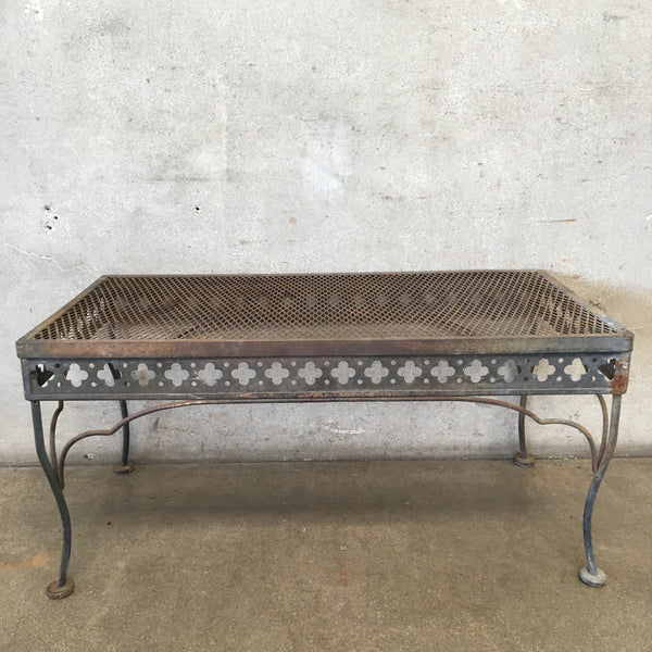 Vintage Outdoor Coffee Table