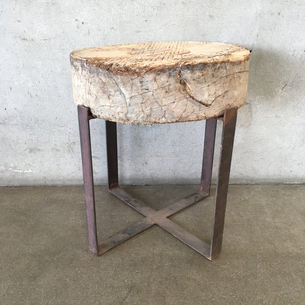 Side Table Stump On A Stand