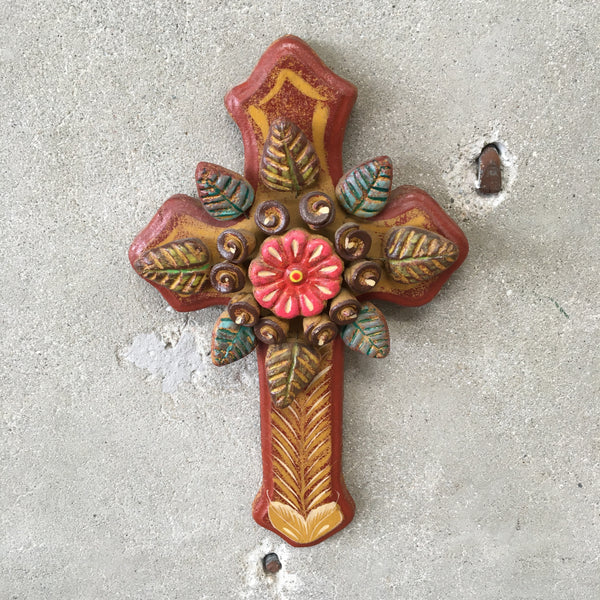 Hand Made Clay Cross