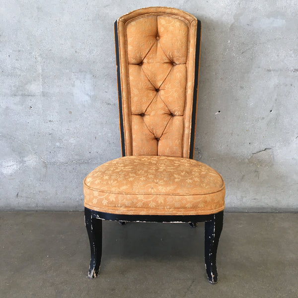 Victorian Hollywood Boudoir Slipper Chair