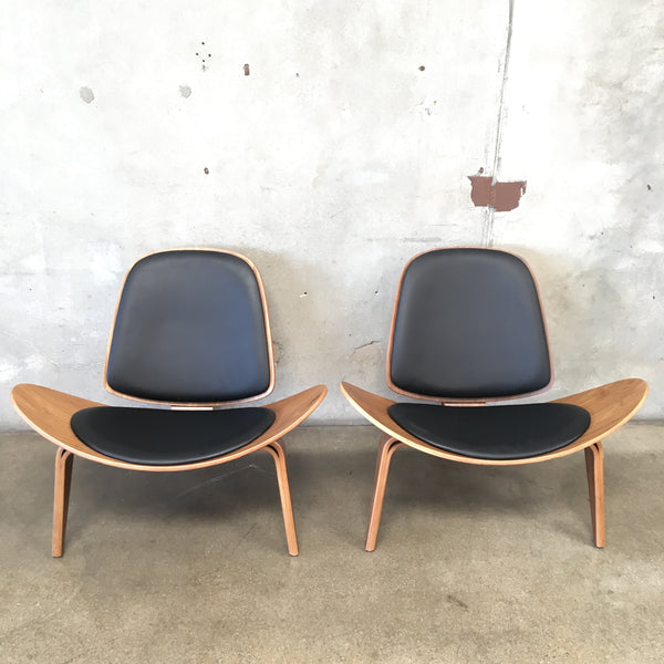 Pair of Bentwood Mid Century Style