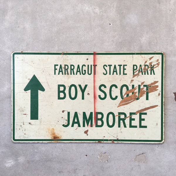 Vintage Boy Scouts Sign