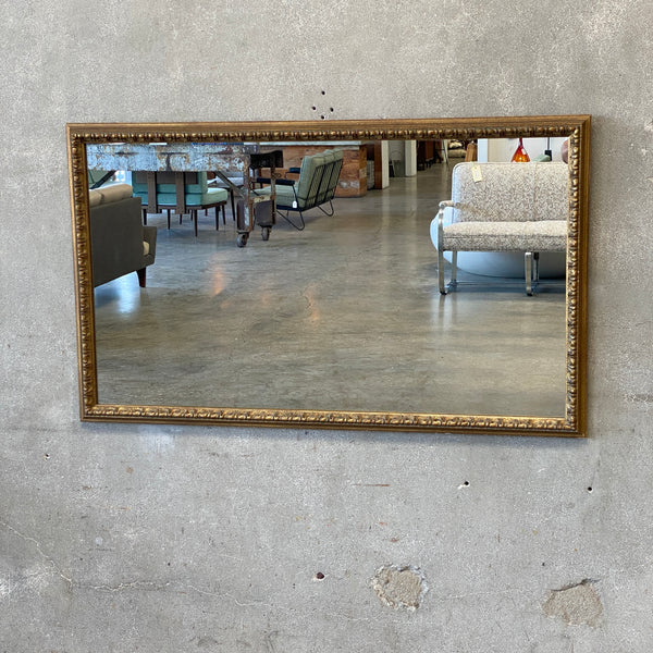 Hollywood Regency Gold Framed Mirror