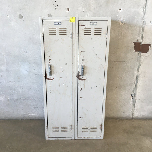 Industrial Two Door Lockers