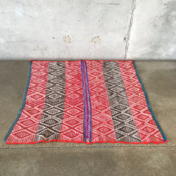 Vintage Peruvian Wool Rug/Throw