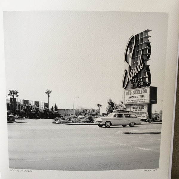 Vintage 1962 Las Vegas  Photograph by Jim Price