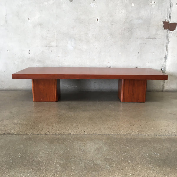 John Keal for Brown Saltman Mid Century Extendable Coffee Table