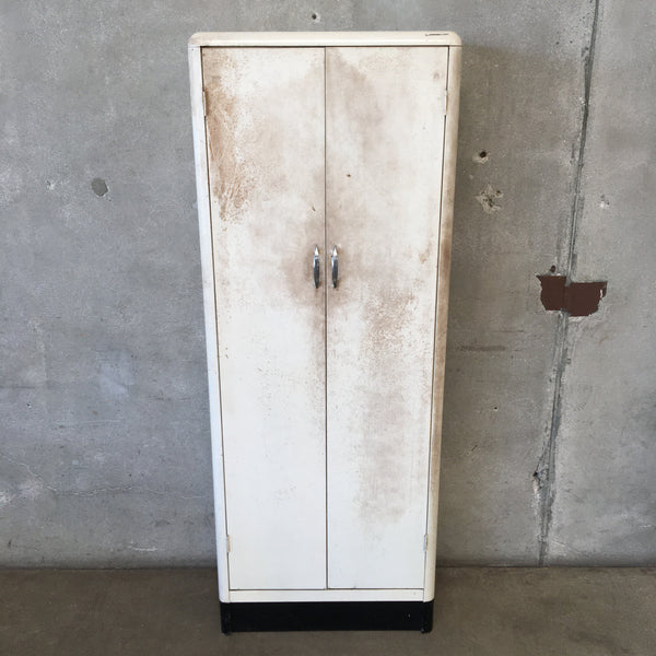 Tall Vintage Locker Cabinet