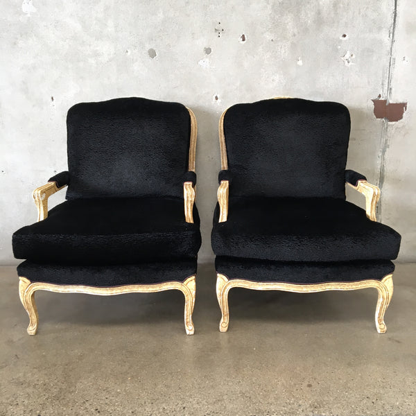Pair of Upholstered Fauteuils