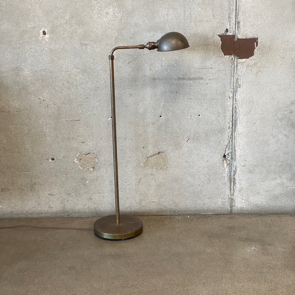 Vintage Floor Lamp with Dimmer Switch