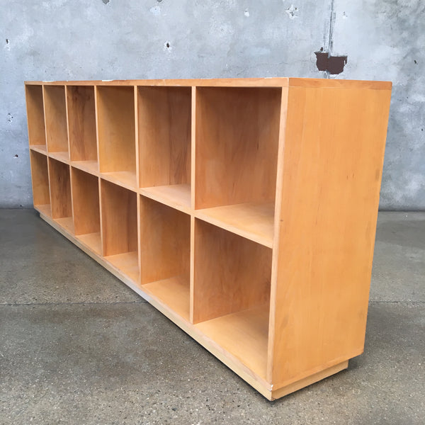 Long Cubby Bookcase