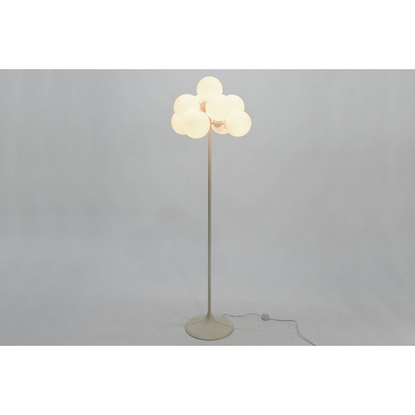 Tulip Floor Lamp with Frosted Globes by Temde Leuchten