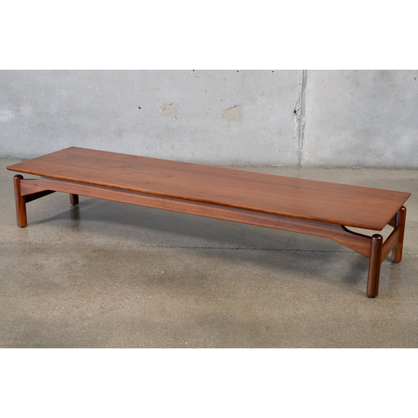 Walnut Coffee Table by Greta Grossman for Glenn of California