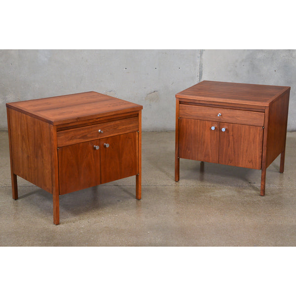 Pair of Paul McCobb Delineator Nightstands