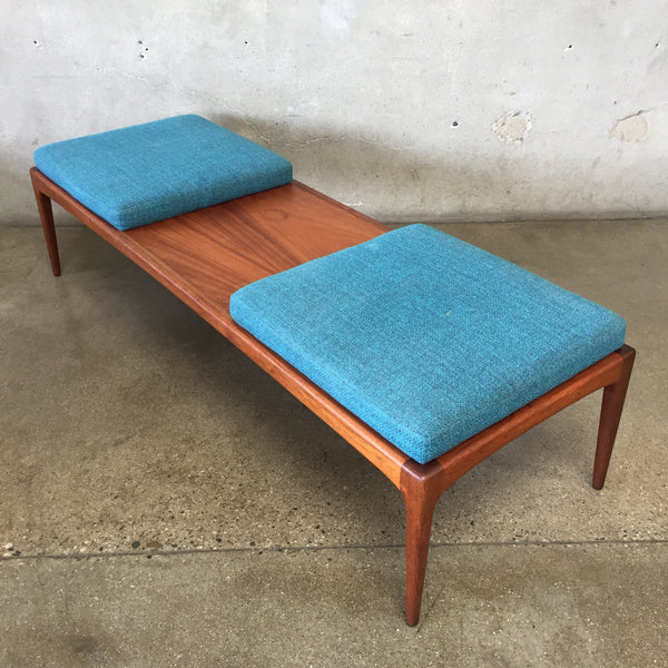 Mid Century Danish Teak Wood Bench