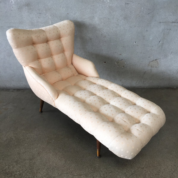 Vintage Tufted Boudoir Chaise