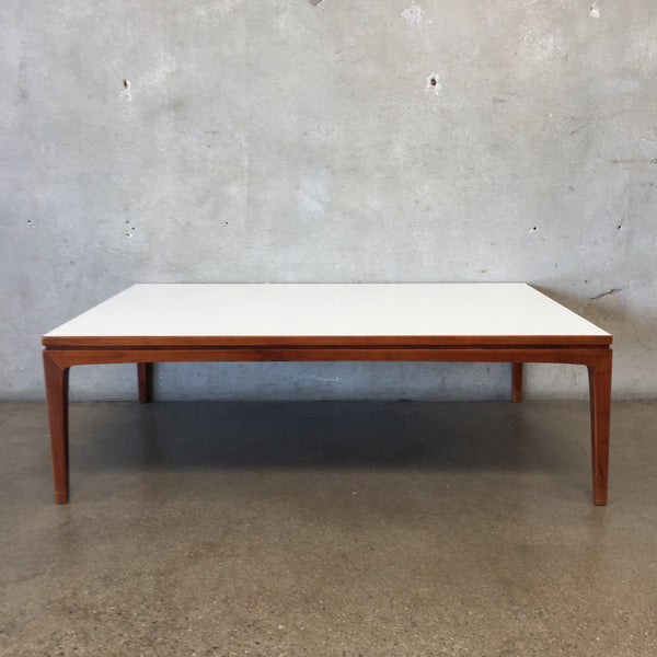 Mid Century Laminate Top Coffee Table