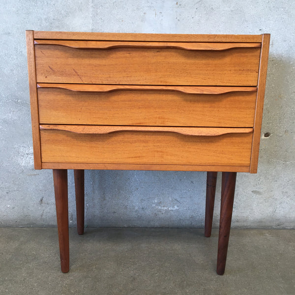 Danish Modern Teak Nightstand/End Table