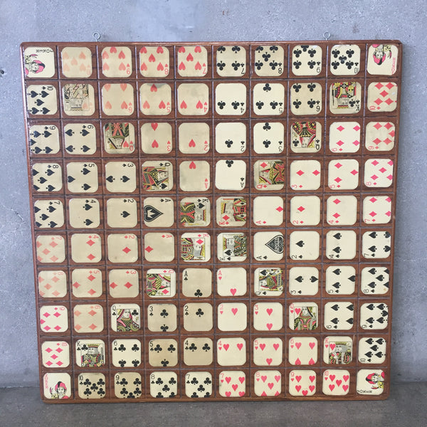 Wood Playing Card Display