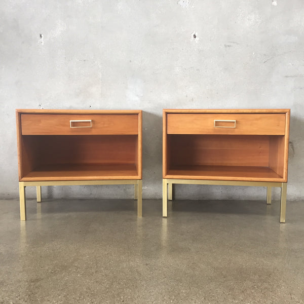 Pair of Mid Century Nightstands