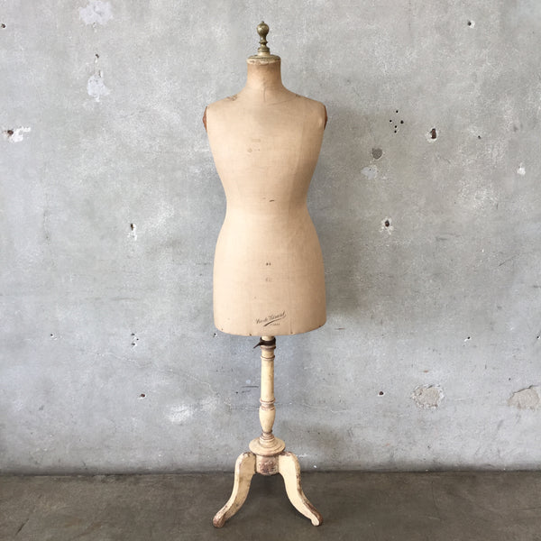 Authentic Early 1900's Buste Girard French Mannequin/Dressform