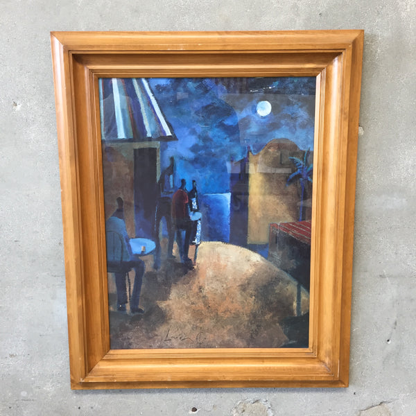 Midnight Moon Framed Art