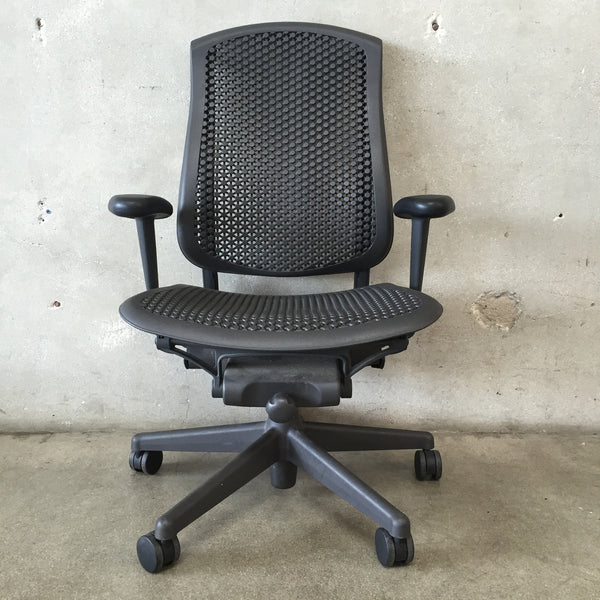 Black Herman Miller Celle Desk Chair