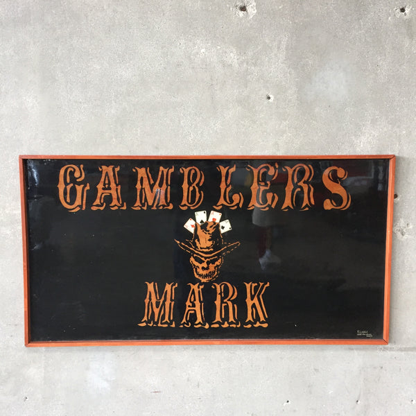 Gambler's Mark Sign