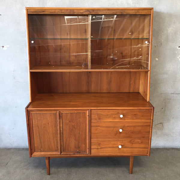 Mid Century Drexel Declaration Hutch by Kipp Stewart-HOLD