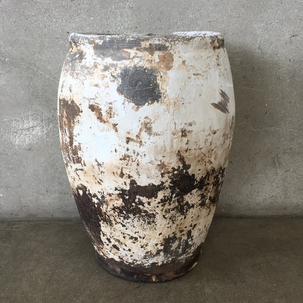 Vintage Clay Grain Pot