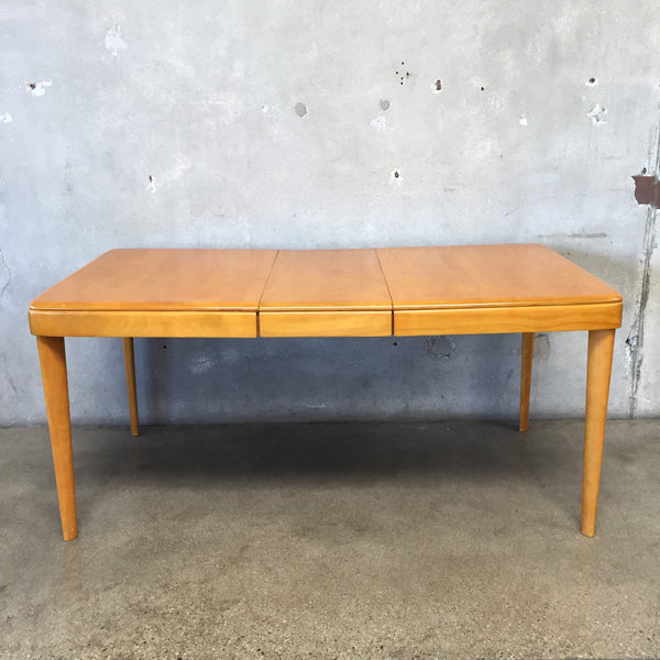 Vintage Heywood Wakefield Maple Dining Table