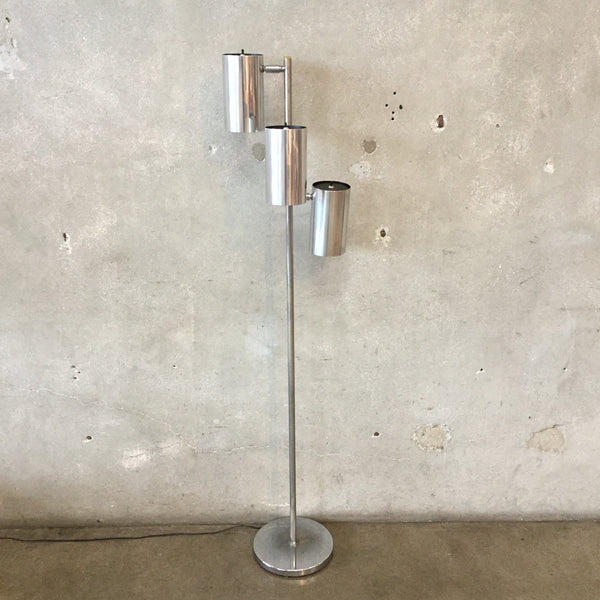 OMI Chrome Floor Lamp by Koch & Lowy