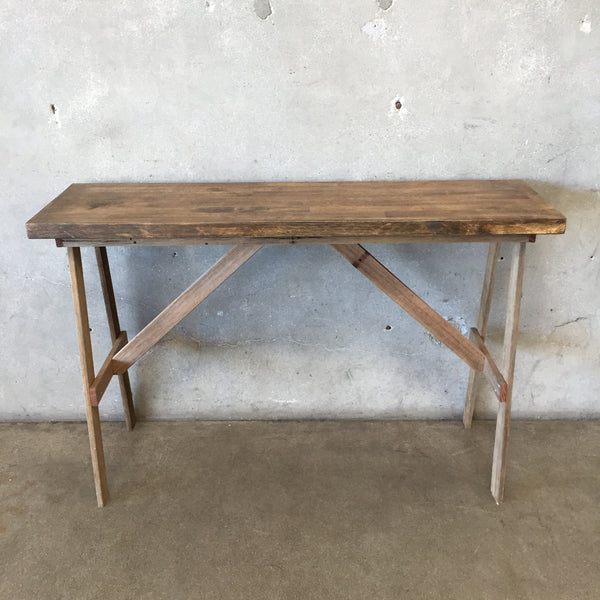 Reclaimed Wood Vintage Table