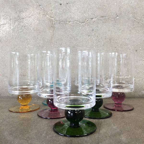 Marquis By Waterford Seven Piece Mid Century Glasses