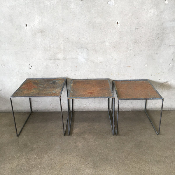 Set of 1960's Nesting Tables