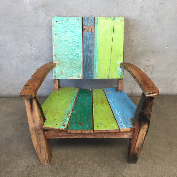 Reclaimed Teak Wood Chair