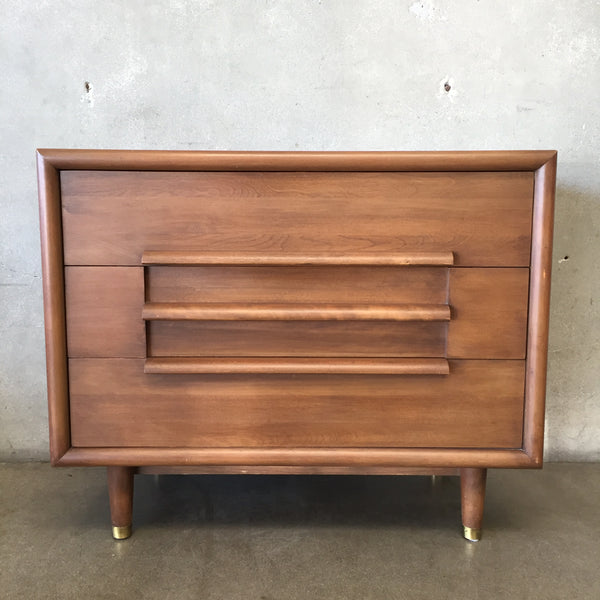 Vintage Mid Century Three Drawer Gentlemen's Chest - Reserved for Marin