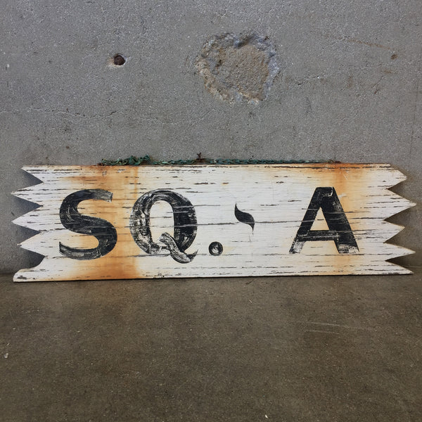 "Texas Ranch Sign ""SQ-A"""