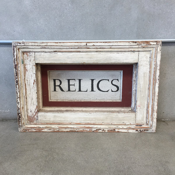 """Relics""  Transom Window"