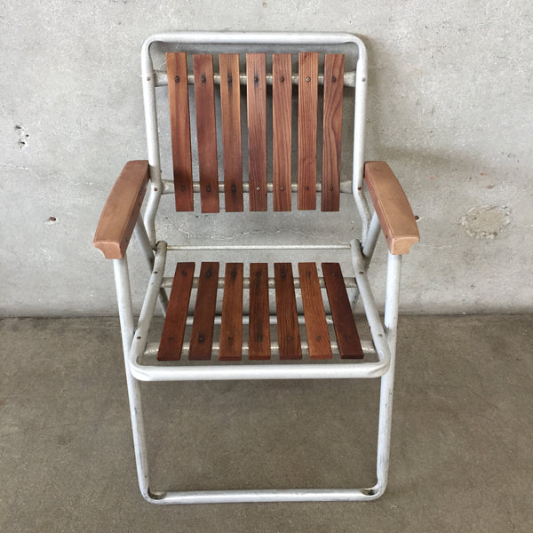 Vintage Outdoor Folding Chair
