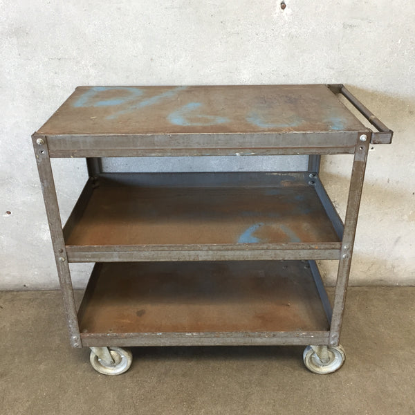 Vintage Dolly Industrial Cart
