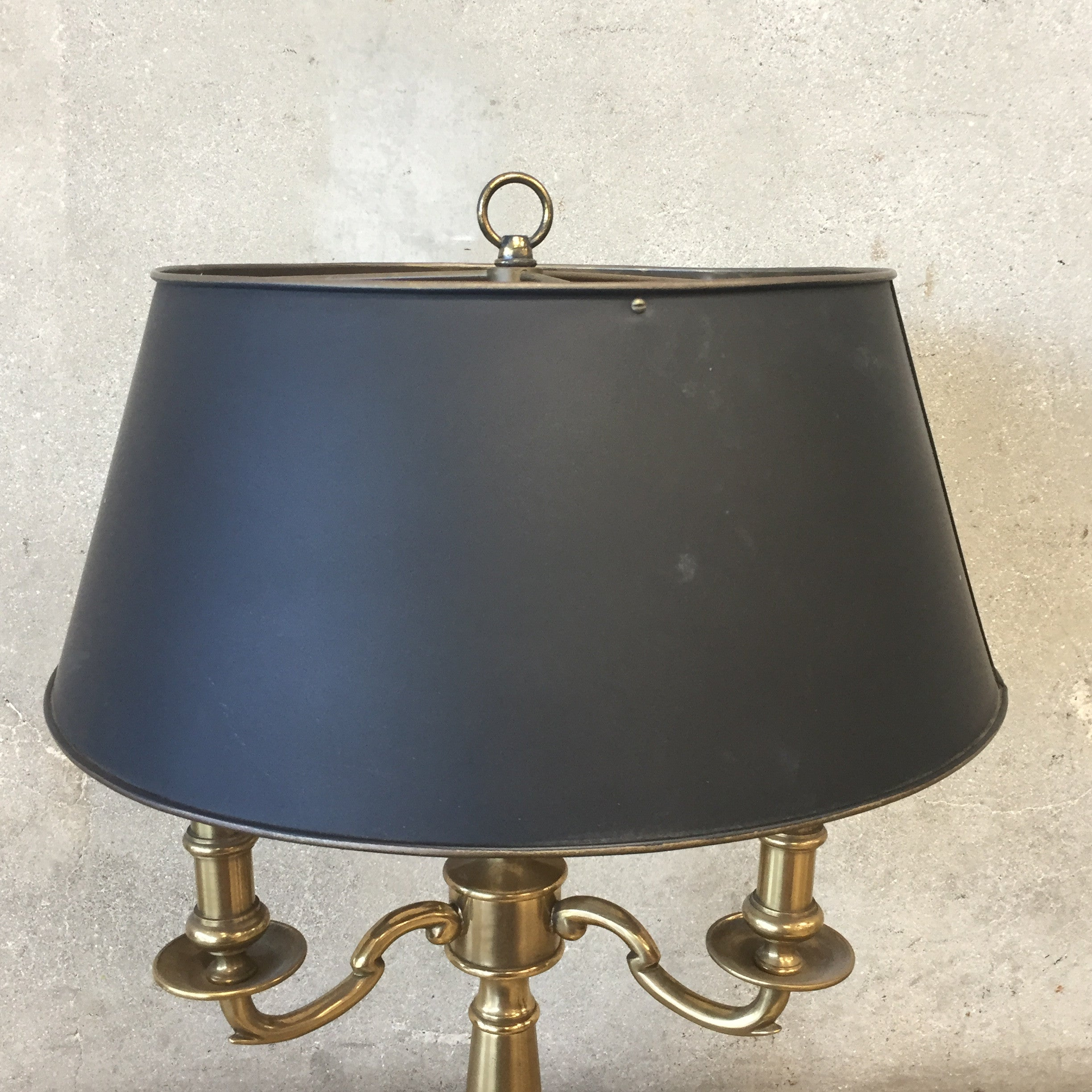 ... Three Candle Brass Table Lamp ...
