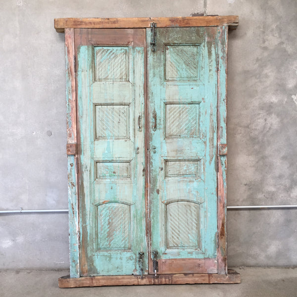 Hand Carved Doors With Door Jamb from India
