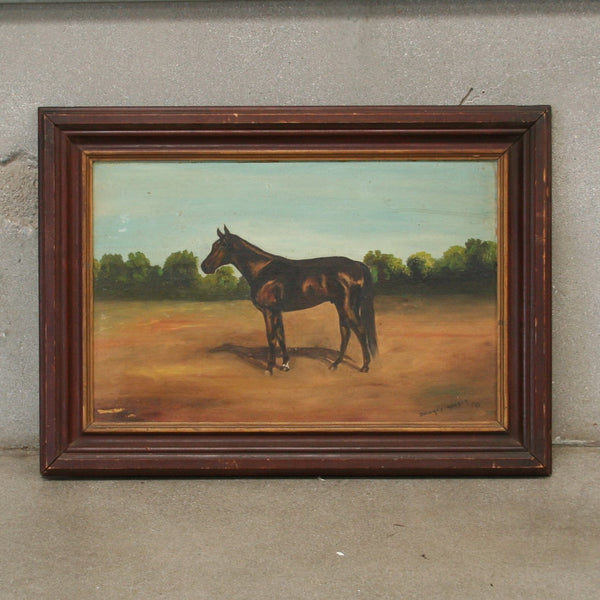 Signed Horse Painting