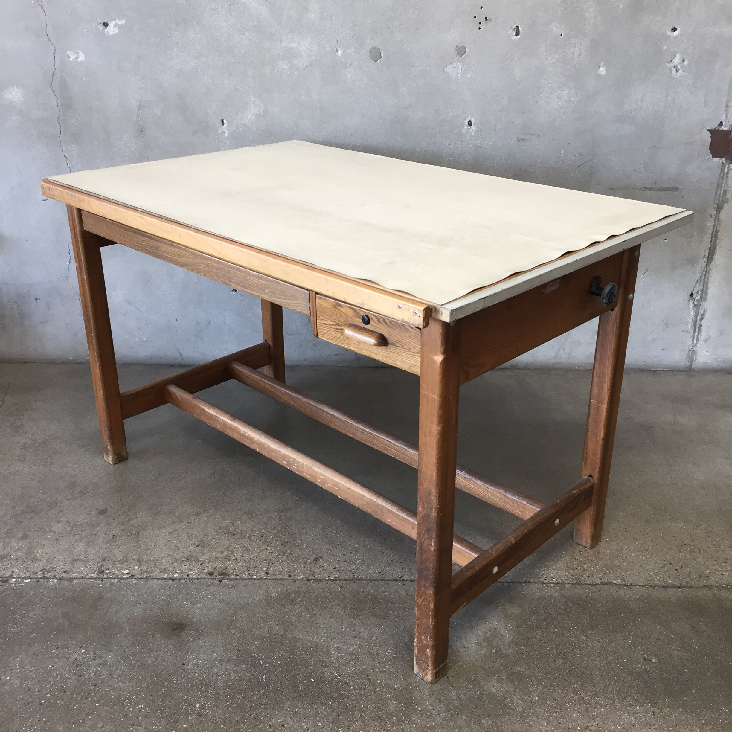 willys overland htm drafting table